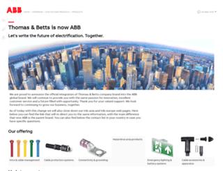 europe.tnb.com screenshot