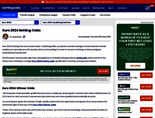 european-championships.net screenshot