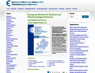 europeanreview.org screenshot