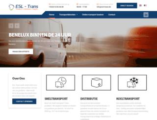 europeansprintline.com screenshot