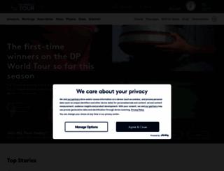 europeantour.com screenshot