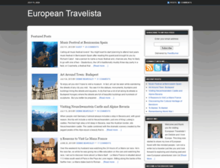 europeantravelista.com screenshot
