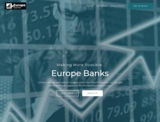 europebanks.info screenshot