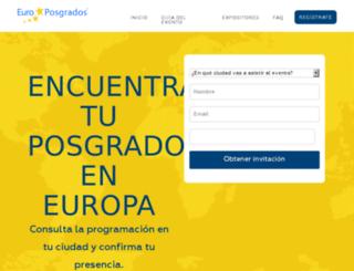 europosgradoscolombia.net screenshot