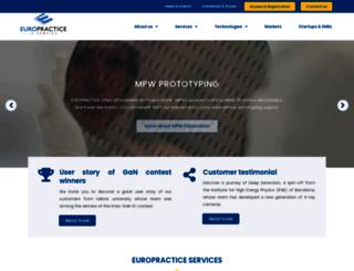 europractice-ic.com screenshot
