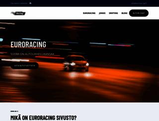 euroracing.fi screenshot