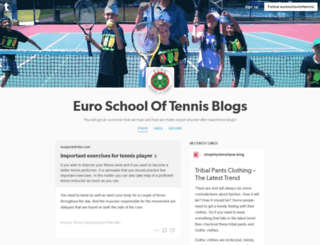 euroschooloftennis.tumblr.com screenshot