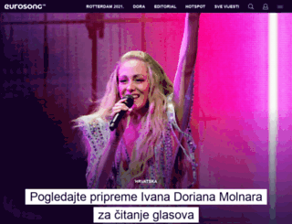 eurosong.hr screenshot