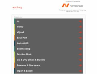 eurot.org screenshot