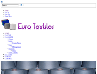 eurotextiles.net.pk screenshot