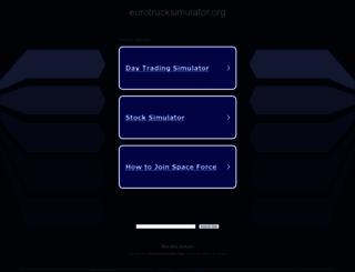 eurotrucksimulator.org screenshot