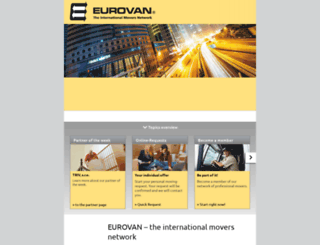 eurovan.com screenshot
