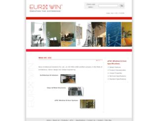 eurowin.co.in screenshot