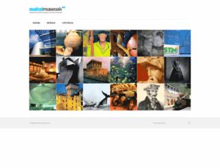 euskalmuseoak.com screenshot