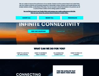 eutelsat.com screenshot