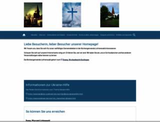 ev-kirche-lichtenwald.de screenshot