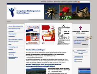 ev-kirche-neckartailfingen.de screenshot