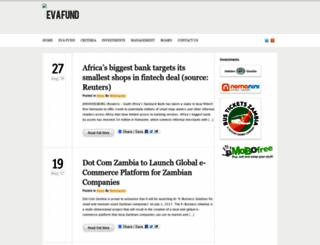 eva-fund.com screenshot