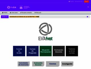 eva.fvet.edu.uy screenshot