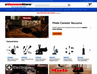evacuumstore.com screenshot
