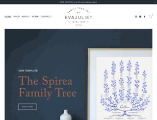evajuliet.com screenshot