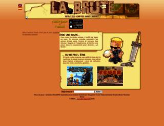 evalou37.labrute.fr screenshot
