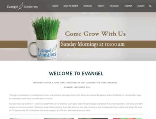 evangelcommunity.com screenshot