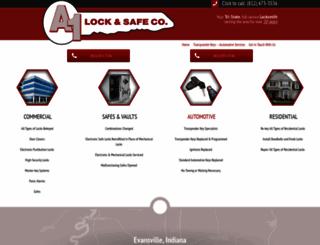 evansvilleindianalocksmith.com screenshot
