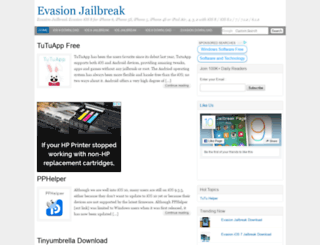 evasionjailbreak.org screenshot