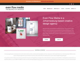 evenflowmedia.co.za screenshot