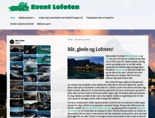event-lofoten.no screenshot