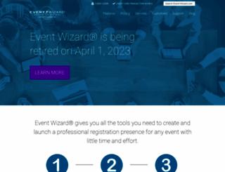 event-wizard.com screenshot