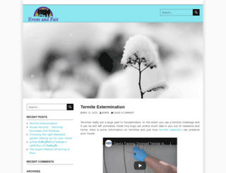 eventandfair.org screenshot