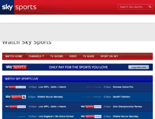 eventcentre.skysports.com screenshot