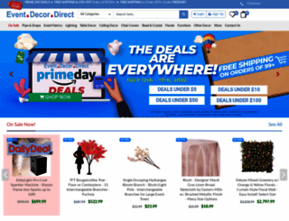 eventdecordirect.com screenshot