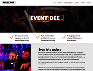 eventidee.nl screenshot