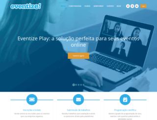 eventize.com.br screenshot