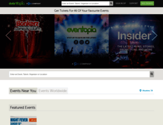 eventopia.co screenshot