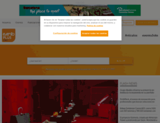 eventoplus.com screenshot