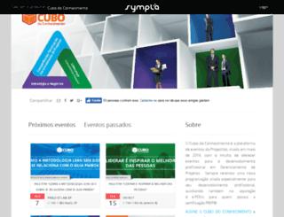 eventos.projectlab.com.br screenshot