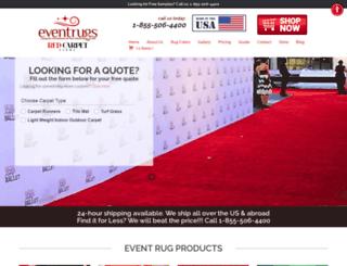eventrugs.com screenshot