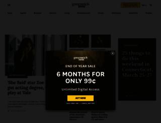 events.greenwichtime.com screenshot