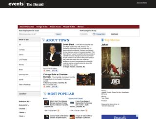 events.heraldonline.com screenshot