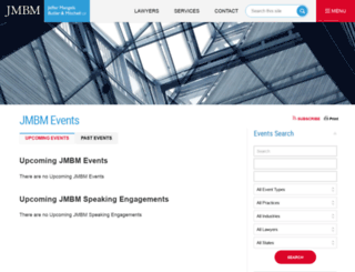 events.jmbm.com screenshot