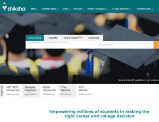 events.shiksha.com screenshot