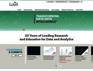 events.tdwi.org screenshot