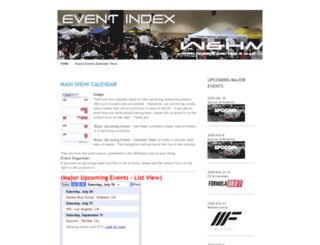 events.wheelsandheelsmag.com screenshot