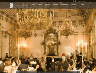 eventsandbeyond.net screenshot