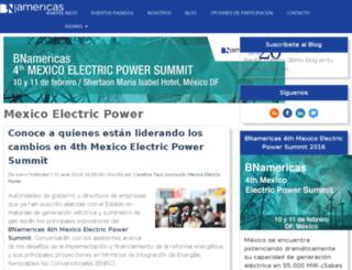 eventsblog.bnamericas.com screenshot