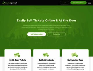 eventsprout.com screenshot